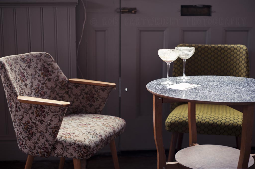 market cafe hackney broadway mkt chairs seat vintage cool bar drinks empty table furniture london photoaday nikon D700